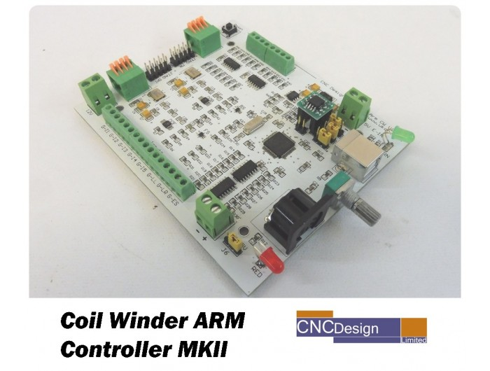 Coil Winder ARM Controller Board MKII