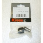Kress 3.175mm (1/8) Collet and Locking Nut