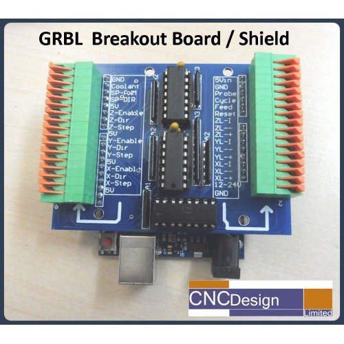 GRBL Breakout/Shield for Arduino Uno CNC Controller Kit