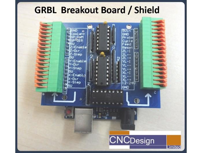 GRBL Breakout/Shield for Arduino Uno CNC Controller Kit