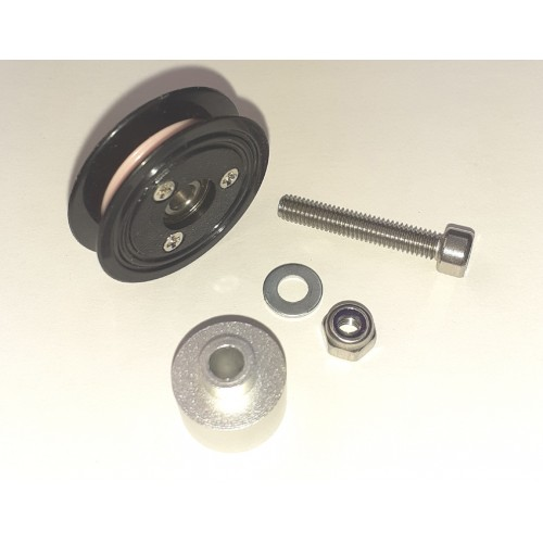 Porcelain wire guide pulley kit for Mini Coil Winder