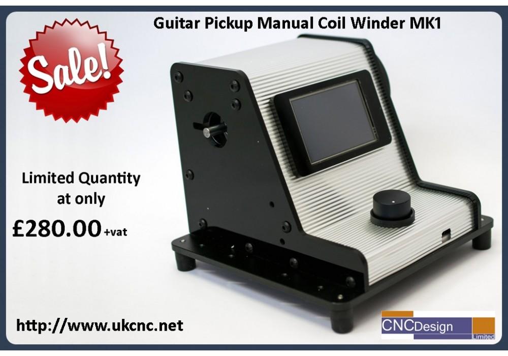 guitar pickup manual coil winder. Black Bedroom Furniture Sets. Home Design Ideas