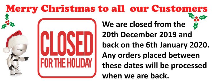 Closed for holiday