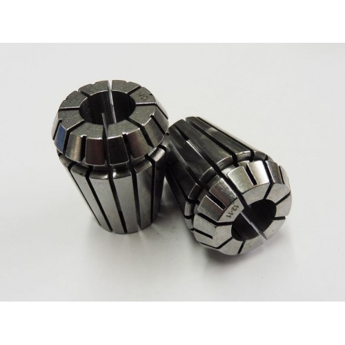 12mm - 11mm High Precision ER25 Collet