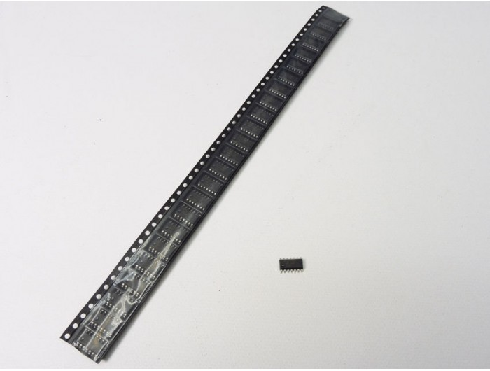Pack of 25 pieces MM74HC04 Hex Inverter IC SOIC 14