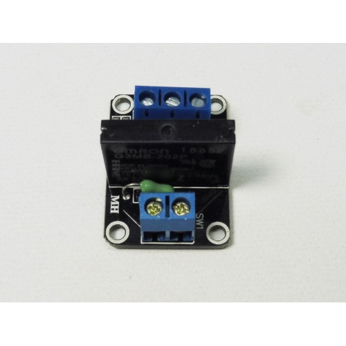 Pack of 2 - 1 Channel 5v G3MB-202P Solid State Relay Module Arduino Raspberry Pi